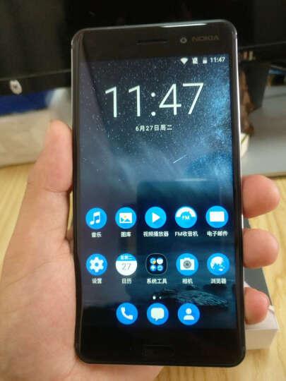 【备件库99成新】诺基亚6 (Nokia6) 4GB+64GB 黑色 全网通 双卡双待 移动联通电信4G手机 晒单图