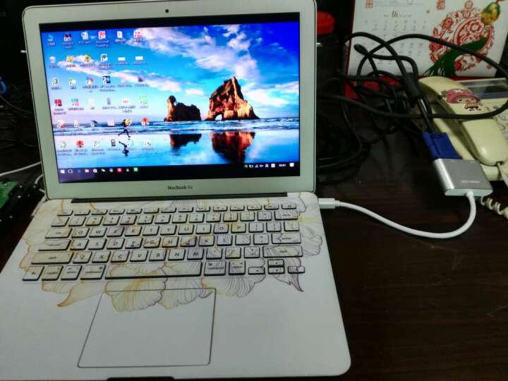 绿联(UGREEN)Mini DP转HDMI/VGA二合一 苹果4K高清转换器 Surface扩展坞雷电笔记本接电脑投影仪 白 20421 晒单图