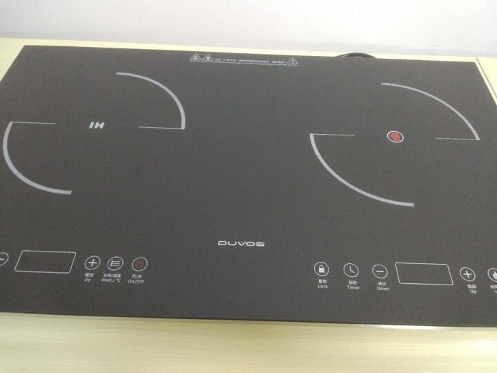 东果(DUVOG) 【德国工艺】双灶电磁炉嵌入式双头电陶炉电磁灶家用商用DG-IEC21 电磁电陶双炉+16A插头 晒单图