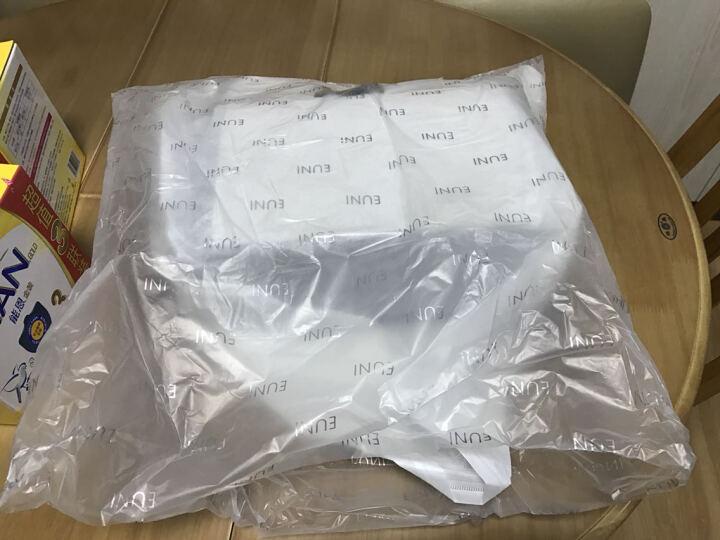 EUNI女包单肩包横款潮流女士手提包大包托特包新款休闲包包女手袋 灰色 E965004I1H 晒单图