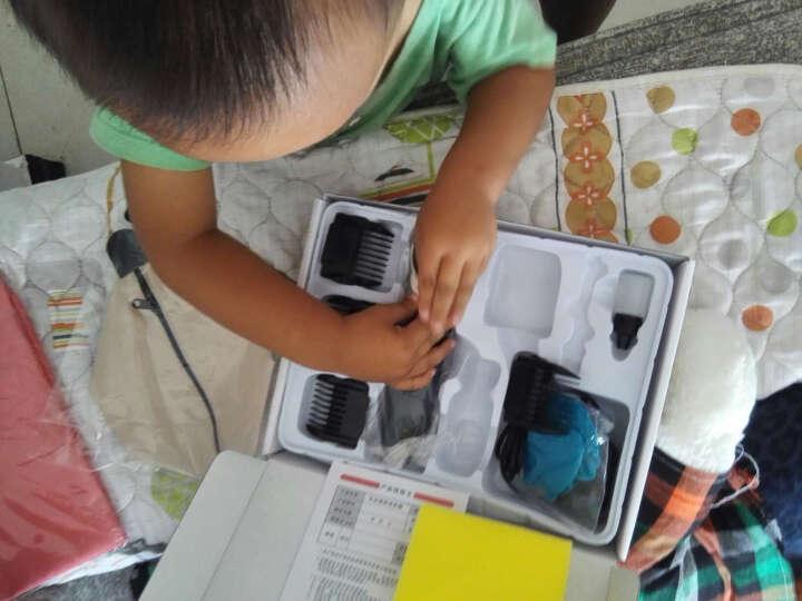 宝润(BaoRun)宝润T1成人儿童电动理发器婴儿剃头刀电推剪静音电推子美发剪刀工具 金色单电池送围布套装 晒单图