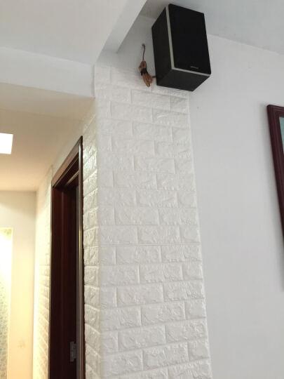 梦雅莉(mengyali)3D立体墙贴纸砖纹自粘创意电视背景墙客厅画卧室装饰防水墙面 银灰色【普通款】 大号(70*77cm) 晒单图