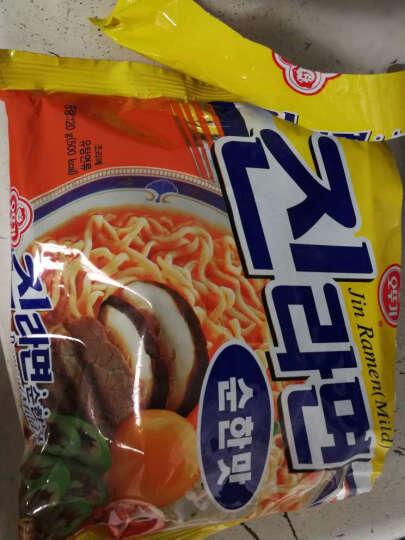 韩国进口 方便面 不倒翁 火热拉面泡面超辣煮面 120g 晒单图
