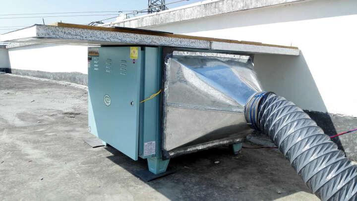 乐创(lecon)油烟净化器商用餐饮饭店厨房酒店环保静电分离器2000风量4000 10000风量 晒单图