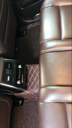 飞邦丝圈全包围汽车脚垫宝马5系525LI奔驰c200l途观迈腾帕萨特凯美瑞速腾奥迪专车专用 黑色红线+黑色丝圈 晒单图