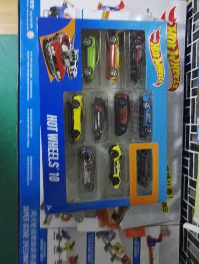美泰风火轮小跑车轨道套装 Hot Wheel男孩赛道玩具赛车小汽车 热门卡车5辆装FKT63 晒单图