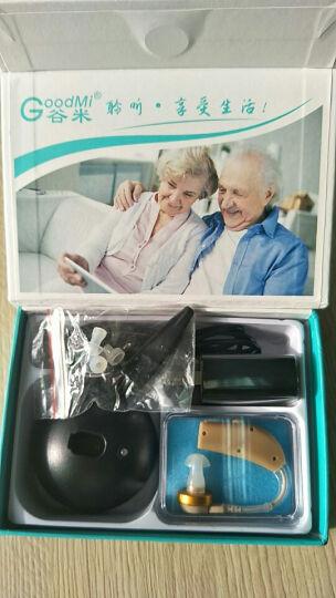中德(zhongde) 中德助听器老年人无线充电型ZDB-100耳背式助听器 单耳 晒单图