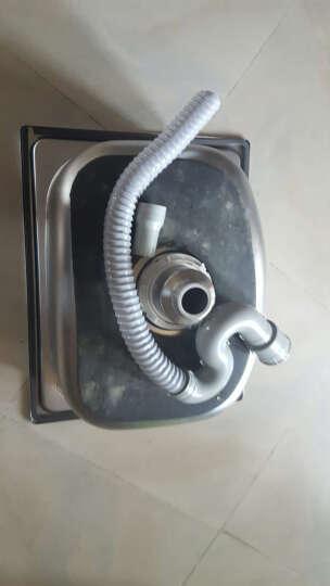 吉赛帝4539一体拉伸成型不锈钢1.3加厚小单槽不锈钢水槽 厨房不锈钢盆 不锈钢水斗 套餐三 晒单图