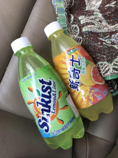 新奇士混合果汁汽水380ml*12瓶(西柚汁+橙汁+柠檬青柠果汁)  晒单图