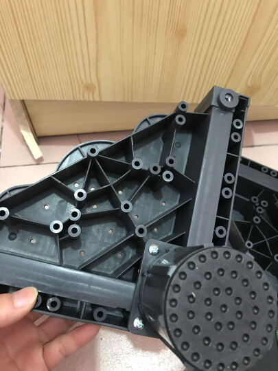 iCreate (创造师)滚筒全自动洗衣机移动固定底座架冰箱底座支架海尔西门子小天鹅通用 吸盘怪兽固定12脚灰-D011 晒单图