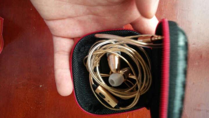 韦兹 原装手机耳机入耳式 K歌金属耳机 适用于华为 小米 苹果 OPPO vivo 金立联想HTC努比亚一加坚果锤子酷派中兴诺基 子弹头金属 晒单图