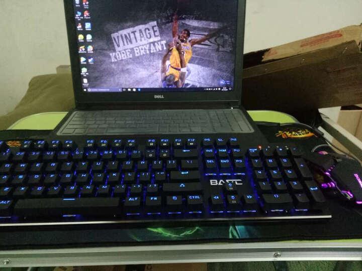 本手幻影机械键盘光轴青轴黑轴台式电脑笔记本有线金属游戏键盘键鼠套装 RGB版青轴+黑色锋刃鼠标 晒单图