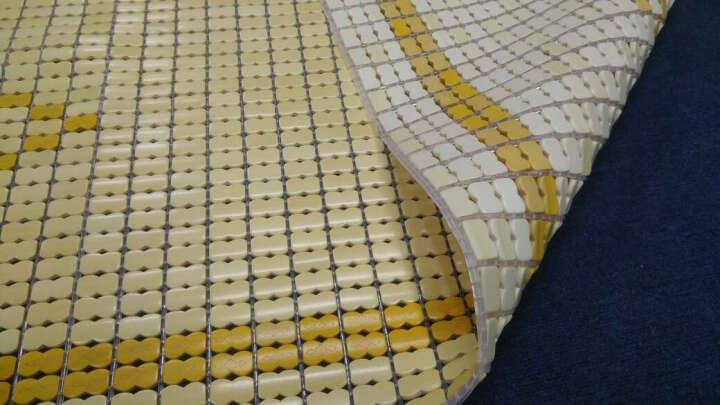长相思 凉席 竹席1.5米碳化学生麻将凉席子1.2米单人床席 双人1.8米折叠席 纳米包边衬底(尊贵系列) 三件套-1.8x2米床 晒单图