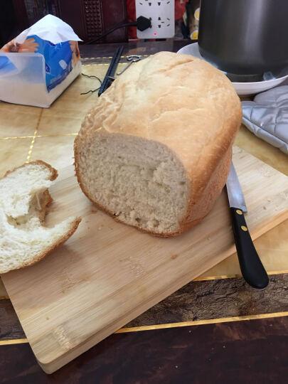 美的(Midea)面包机TLC2000 全自动家用和面机多功能不锈钢机身 钢化玻璃上盖 晒单图