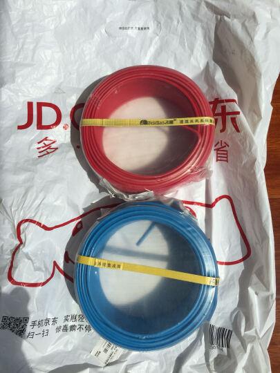 飞雕(FEIDIAO)电线电缆 BV2.5平方 国标家用铜芯电线单芯单股铜线50米 蓝色零线 晒单图