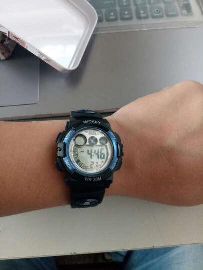 迪士尼 Disney 儿童手表 防水夜光电子表 黑色男孩户外运动表学生手表 MK-15053B 晒单图