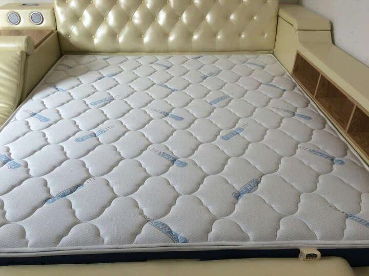 眠神(mianshen) 眠神 床垫 乳胶床垫1.8米 环保零甲醛 偏硬护脊弹簧床垫 卡思A(波浪棉+进口硬质棉+静音弹簧) 1500*2000 晒单图