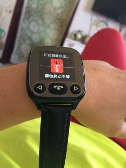 keke 【心率+血压检测】老人智能手表男女心率血压电话腕表儿童智能防丢器手机GPS定位手环 按键版-香槟金(双向通话+心率血压监测+多重定位) 晒单图