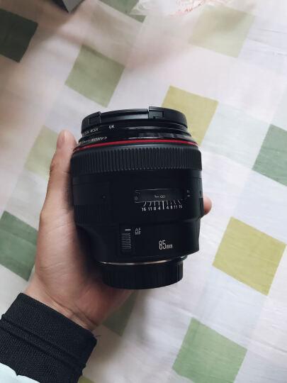 佳能(Canon)全画幅EF镜头 专业人文/微距/人像大光圈单反定焦系列 红圈EF85mm f1.2 II 二代 含遮光罩 晒单图