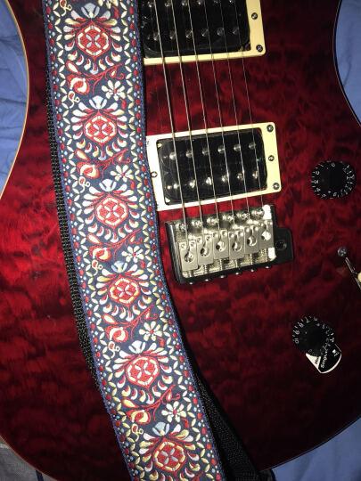 ERNIE BALL 复古vintage波西米亚风 针织刺绣吉他背带 4094复古编织提花款 晒单图