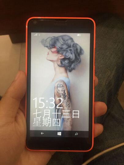 微软(Microsoft) 微软 lumia 640黑色智能手机 联通4G SD卡扩展 橘色 港版机身内存 8G 晒单图