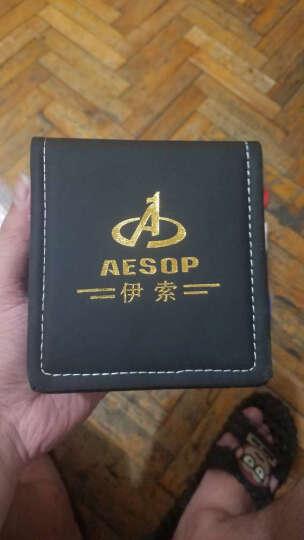 伊索(AESOP)男士手表 全自动机械表运动男表时尚腕表 多功能钢带夜光防水男士表9002 9039钢带本黑 晒单图