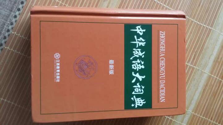 中华成语大词典单色本最新版 初高中学生工具书 晒单图