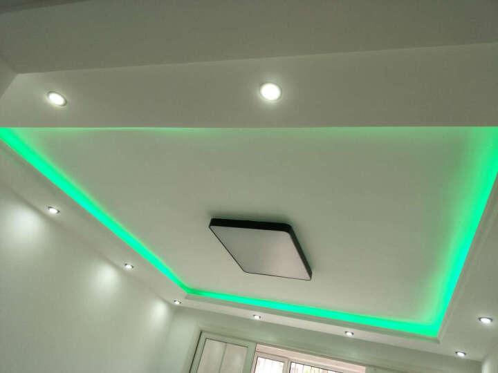 邦德士 led灯带 5050贴片 暗槽吊顶柜台客厅灯条 彩色灯带高亮 5050 RGB 彩色变光 60 晒单图