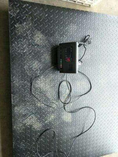 凯丰 【品牌直营】电子地磅秤1-3吨/5T10T 小型电子地磅称重平台秤小秤畜牧磅秤 1.5米*1.5米 3吨+围栏 晒单图