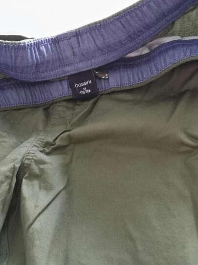 堡狮龙新款男装学生休闲裤运动短裤男 011303000 591 沉绿松石色 M码 170/76B 晒单图