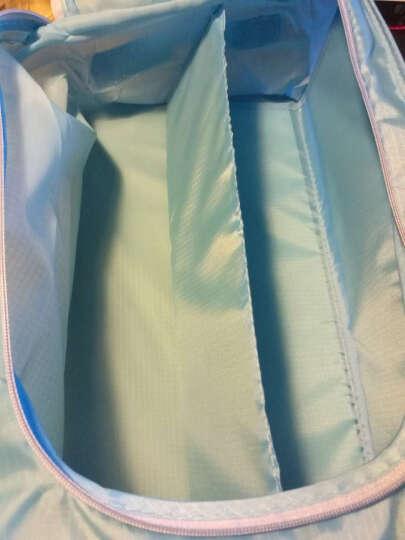青苇 创意防水鞋袋鞋盒 收纳袋2个装 旅行 浅蓝色 晒单图