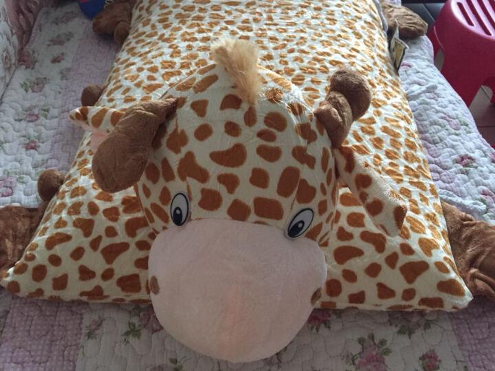 Raza Latex泰国儿童乳胶枕小宝宝卡通枕玩偶动物枕头小孩枕天然乳胶护颈枕抱枕 老虎 晒单图
