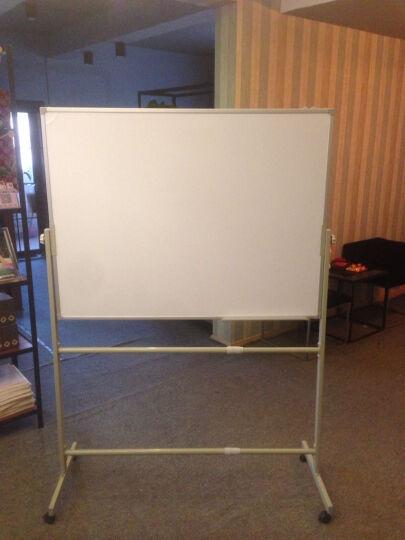 丽博士  白板 黑板 移动  架子 看板 办公 会议 教学 培训  磁性 写字板  书写 60*90cm钢化玻璃白板 晒单图