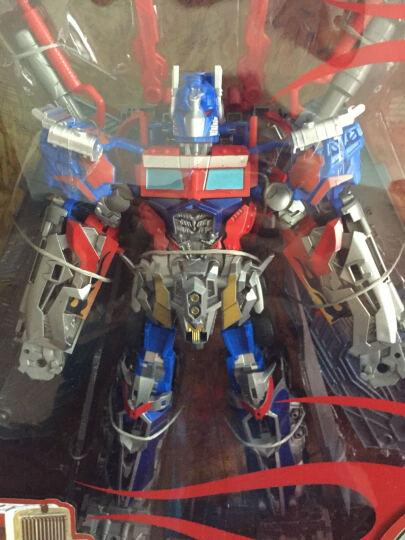 胜雄 变形玩具机器人金刚仿真模型一键遥控变形汽车人布加迪威龙儿童男孩礼物变形金刚 飞船-冰魄猎手 晒单图