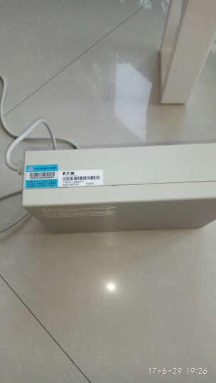 山特(SANTAK)TG500 后备式家用电脑办公UPS不间断电源300W断电保护智能续航20分钟 晒单图