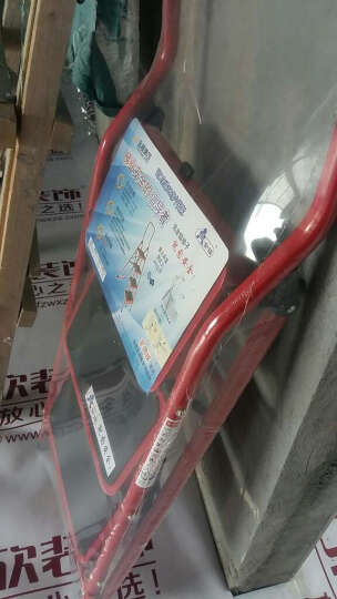 金锚圆管宽踏板家用铁梯子人字梯折叠梯安全梯 LFD152TA1纸箱包装 晒单图