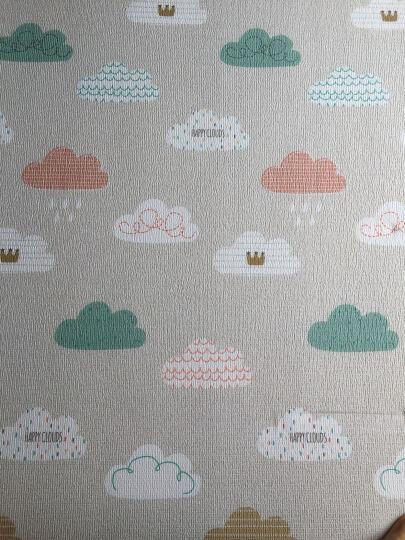 帕克伦爬行垫宝宝爬行垫婴儿童爬爬垫环保XPE加厚爬行毯泡沫地垫儿童爬行垫 梦幻云朵 200x180x1.7cm 晒单图