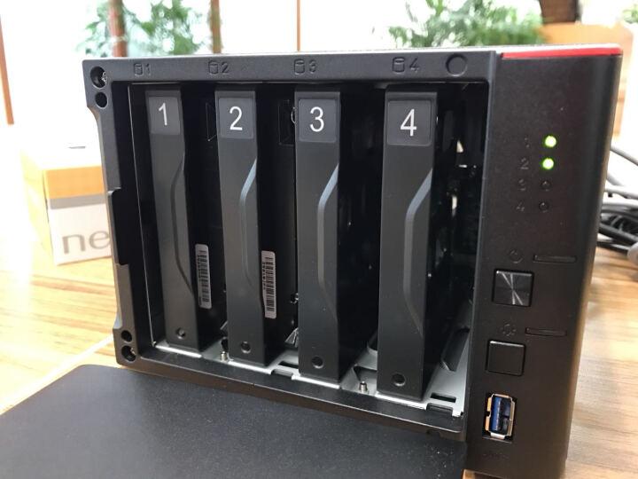 巴法络(BUFFALO) LS441DE 网络存储器 NAS云存储4盘位空槽 文件服务器 LS441DE-AP 2TB*2块NAS盘 4TB 晒单图