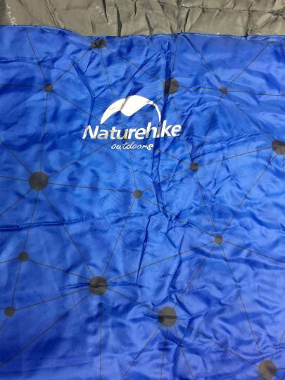 挪客NatureHike 户外睡袋成人加宽加厚春秋季保暖室内办公室便携学生单人棉睡袋 果绿色 晒单图