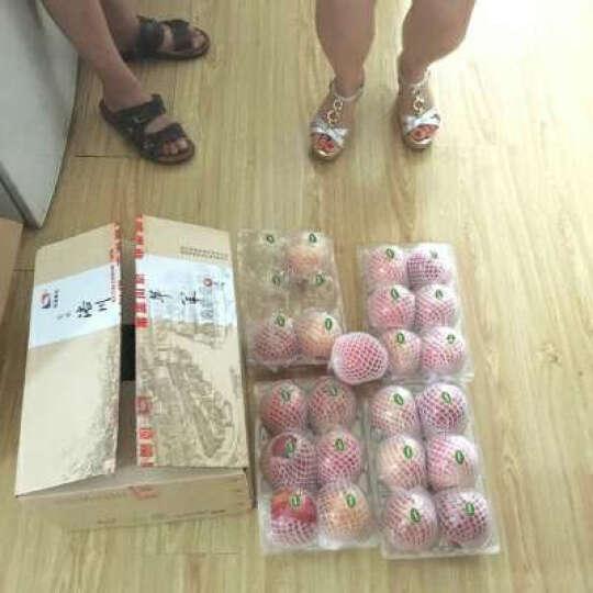 洛川苹果 陕西红富士苹果水果  24个85mm果径 约7kg 新鲜水果礼盒 新鲜时令水果 24枚85 晒单图