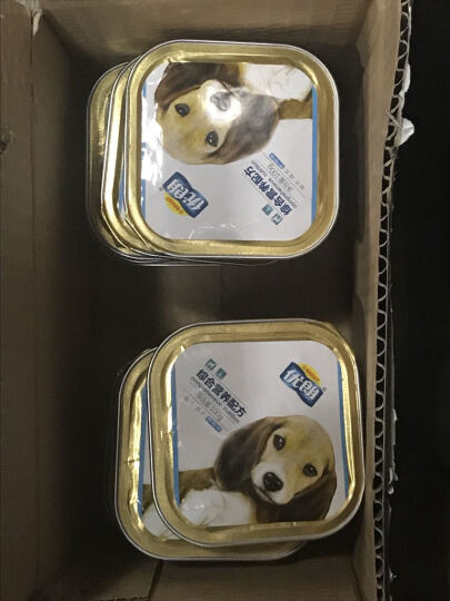 优朗 犬用狗狗罐头零食湿粮铝 盒装 综合营养配方-老年犬 1罐*100g 晒单图
