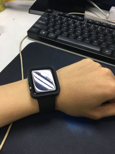 Smorss 手环2代腕带 非原装腕带配件  彩色替换腕带 橙色 晒单图