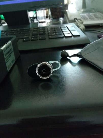 米亚达 无线蓝牙耳机 隐形迷你车载跑步运动耳塞式 苹果7小米OPPO华为VIVO三星通用 高配绅士黑 晒单图