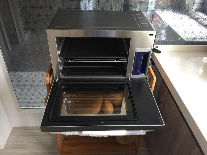 德国巴科隆(BAKOLN)蒸箱烤箱蒸烤箱电蒸汽烤箱家用28L容量台式蒸烤二合一体机蒸烤炉BK-28B 晒单图
