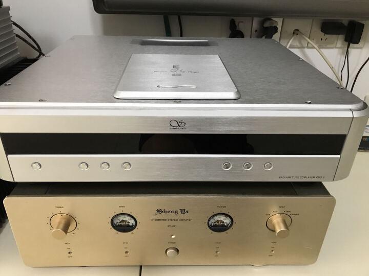 山灵(SHANLING) 山灵CD3.2 HI-END 电子管CD播放机转盘胆播放机DSD解码升级版 银色 晒单图