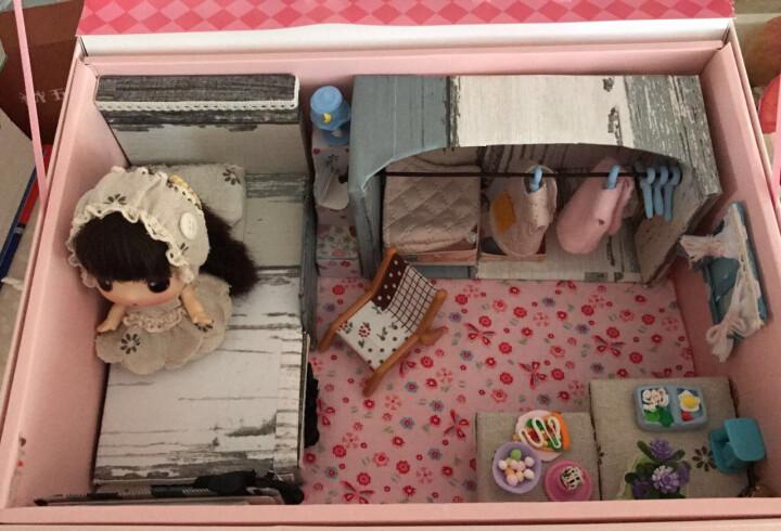 ddung 冬己迷糊娃娃 创意公仔挂件卡通装饰品 动漫玩偶女孩换装萌娃变妆换衣服娃娃摆件儿童生日礼物 橙巫女_FDE0901I 晒单图