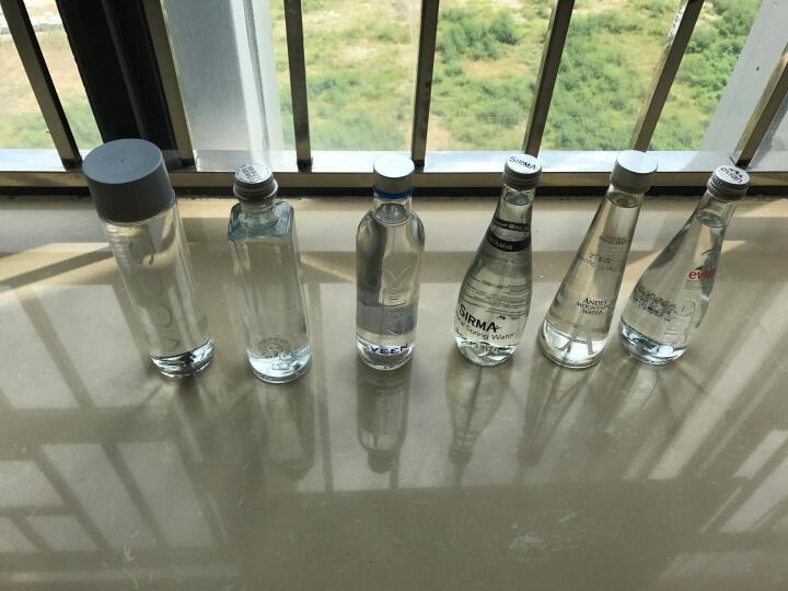 进口高端水玻璃瓶组合 索蕾+松林+丝+安第斯+依云+薇恩 来自世界各地的进口水 晒单图