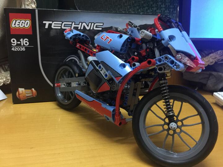 乐高(LEGO) LEGO乐高科技机械组系列益智拼装积木玩具 赛车摩托车飞机大小颗粒玩具 42066 空中竞速喷气式飞机 晒单图