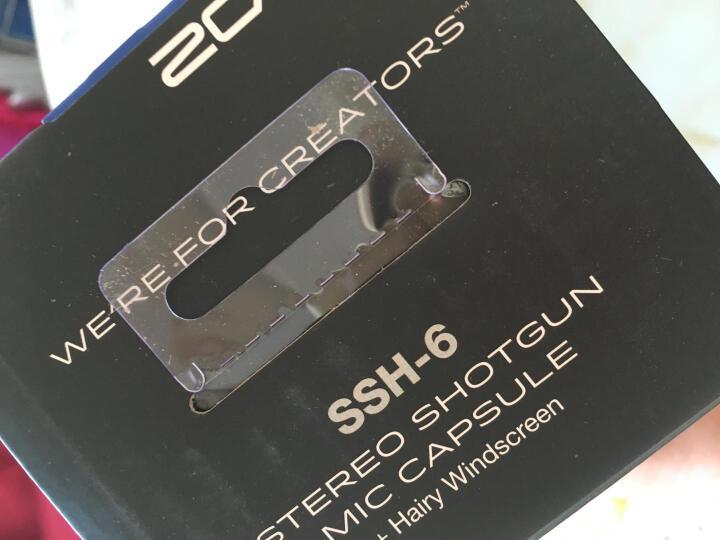 ZOOM H6录音笔麦克风配件 SSH-6型麦克风 SSH6送防风毛衣(H5可用) 晒单图