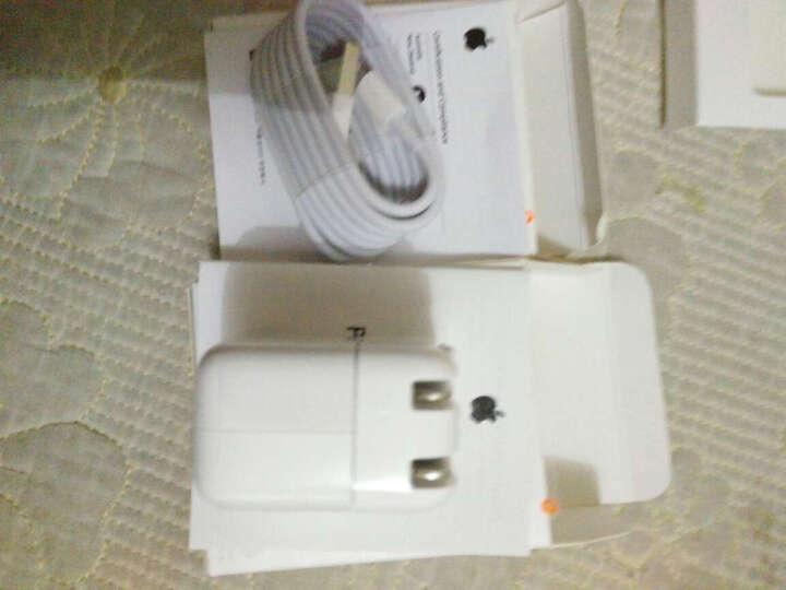 HK 苹果手机快充充电器头数据线适用iPhone6/6s plus/7/8/X/iPad iPad 12W USB快充电源适配器 iPhone7/8 plus/X 晒单图